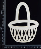 Basket - Large - White Chipboard