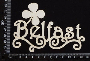 Belfast - White Chipboard