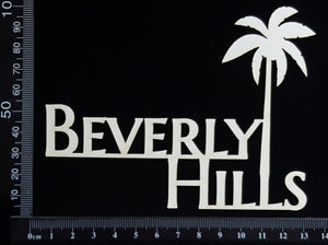 Beverly Hills - White Chipboard