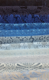 Assorted Lace Pack - Shades of Blue