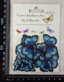 Butterfly Stickers - Blue