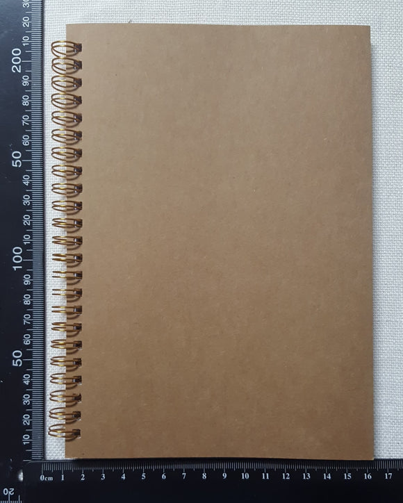 Spiral Bound Note Book - A5 - 120 Pages