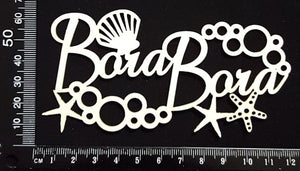 Bora Bora - A - White Chipboard