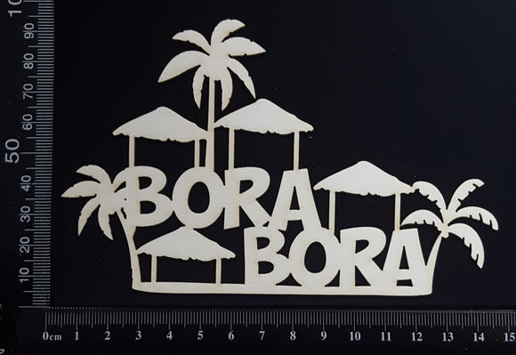 Bora Bora - B - White Chipboard