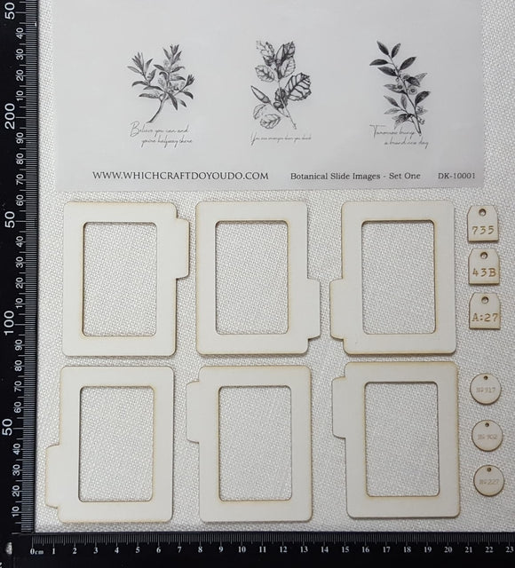 Botanical Slides Kit - Set One