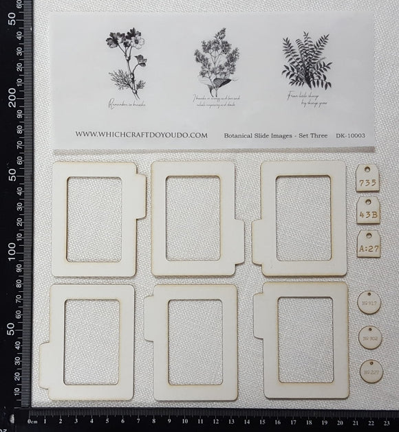 Botanical Slides Kit - Set Three
