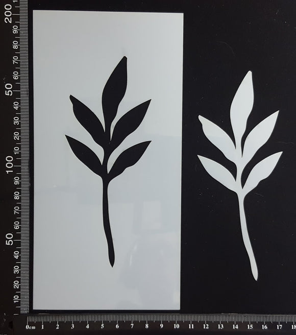 Botanical  - Stencil - 100mm x 200mm - AA-L