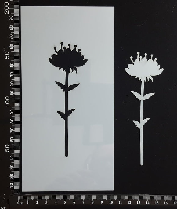 Botanical  - Stencil - 100mm x 200mm - AD-L