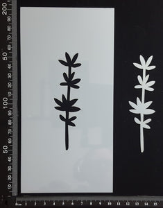 Botanical - Stencil - 100mm x 200mm - (SBT-0031)