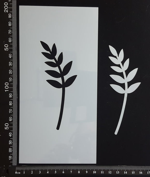 Botanical - Stencil - 100mm x 200mm - (SBT-0034)
