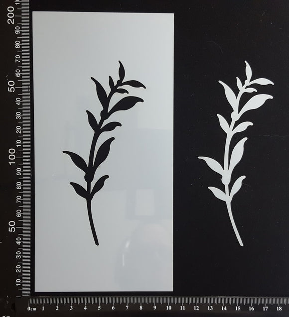 Botanical - Stencil - 100mm x 200mm - (SBT-0035)