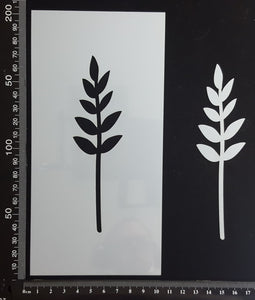 Botanical - Stencil - 100mm x 200mm - (SBT-0037)