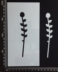 Botanical - Stencil - 100mm x 200mm - (SBT-0038)