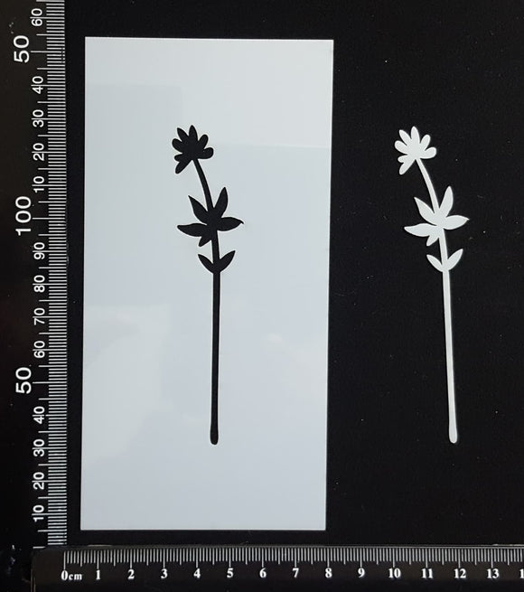 Botanical - Stencil - 75mm x 150mm - (SBT-0059)