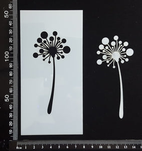 Botanical - Stencil - 75mm x 150mm - AZ-M