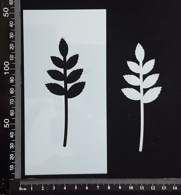 Botanical - Stencil - 75mm x 150mm - (SBT-0066)