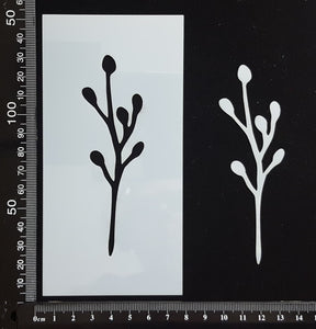 Botanical - Stencil - 75mm x 150mm - (SBT-0069)