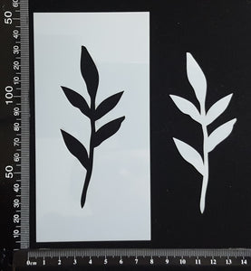 Botanical - Stencil - 75mm x 150mm - (SBT-0070)
