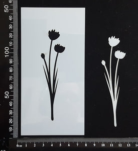 Botanical - Stencil - 75mm x 150mm - (SBT-0076)