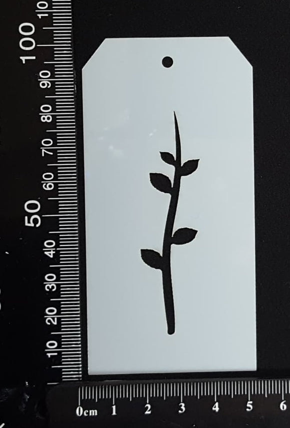 Tag Stencil - Botanical - 50mm x 100mm - (SBT-0016)