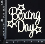 Boxing Day - White Chipboard
