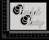 Bridal Party - White Chipboard
