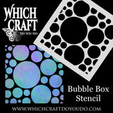 Bubble Box - Stencil - 150mm x 150mm
