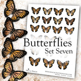 Butterflies - Set Seven - DI-10126 - Digital Download