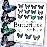 Butterflies - Set Eight - DI-10127 - Digital Download
