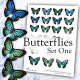 Butterflies - Set One - DI-10120 - Digital Download