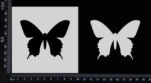 Butterfly - A - Stencil - 100mm x 100mm