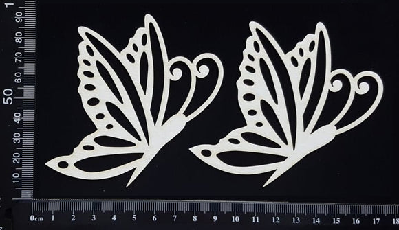 Butterfly Set - PA - White Chipboard
