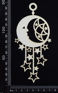 Dreamcatcher - Cosmic - White Chipboard