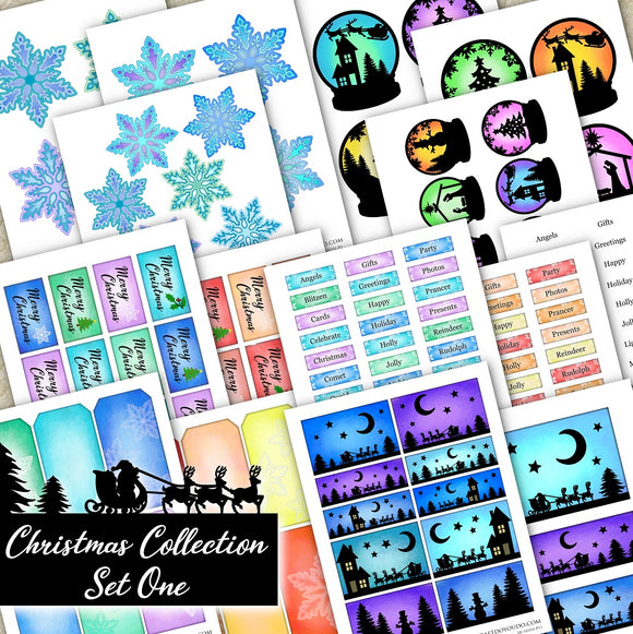 Christmas Collection - Set One - DI-10102 - Digital Download