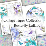 Collage Paper Collection - Butterfly Lullaby - DI-10109 - Digital Download