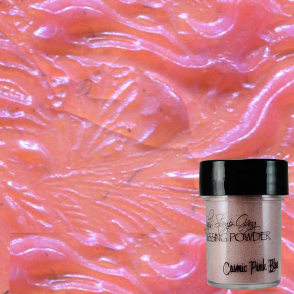 Cosmic Pink Blue Embossing Powder