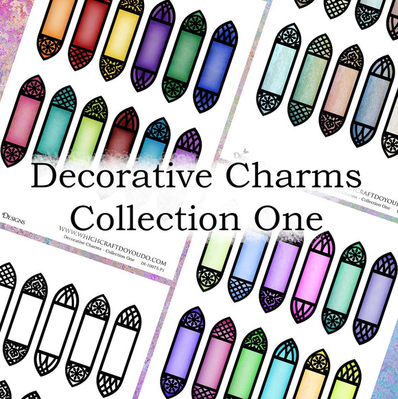 Decorative Charms - Collection One - DI-10075 - Digital Download