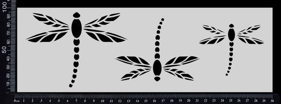 Dragonfly Strip - Stencil - 100mm x 300mm