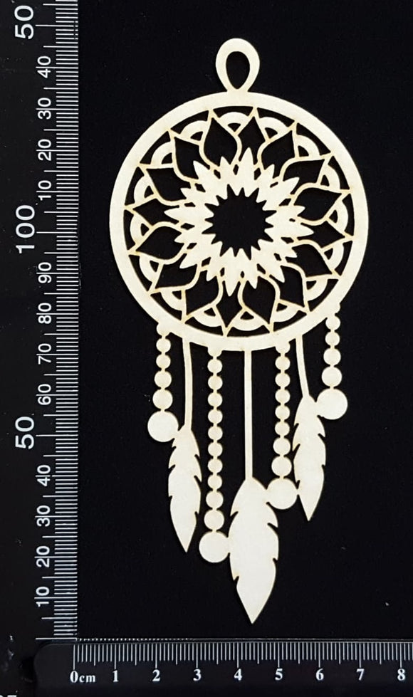 Dreamcatcher - B - White Chipboard