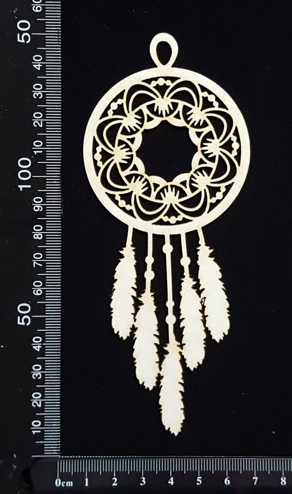 Dreamcatcher - C - White Chipboard