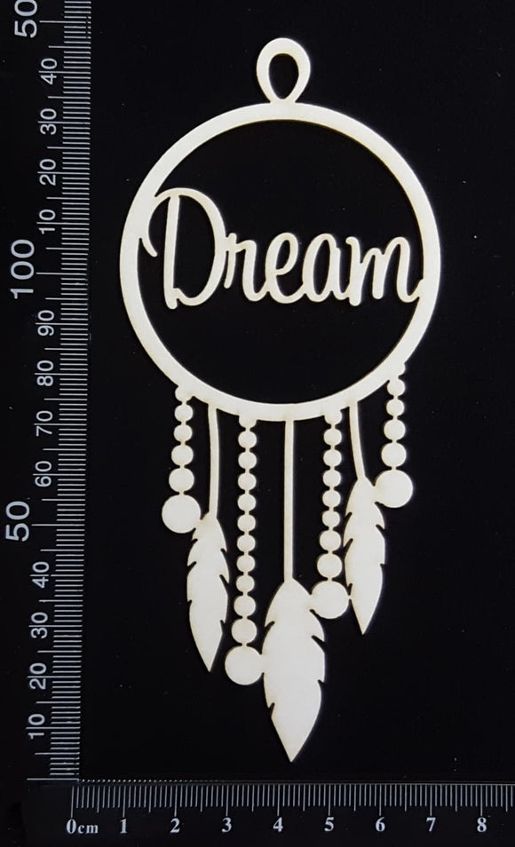 Dreamcatcher - Dream - White Chipboard