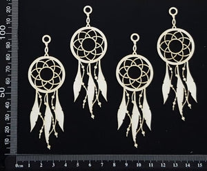 Dreamcatchers - Mini - White Chipboard