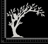Enchanted Tree - White Chipboard