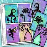 Fairy Collection - Postcards - Set One - DI-10056 - Digital Download