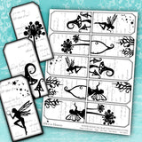 Fairy Collection - Tags - Set Two - DI-10053 - Digital Download