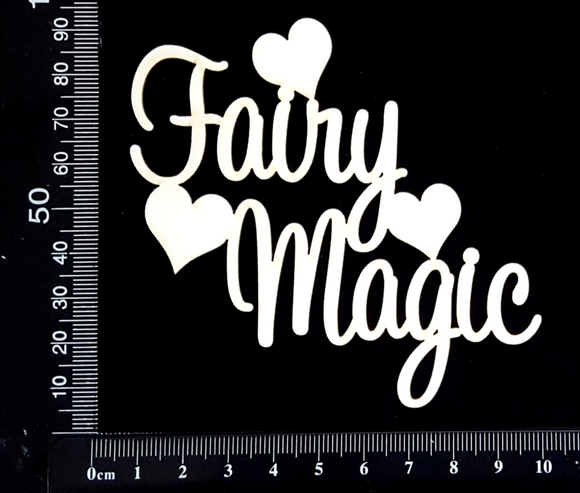 Fairy Magic - White Chipboard