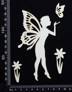Fairy Set - AG - White Chipboard