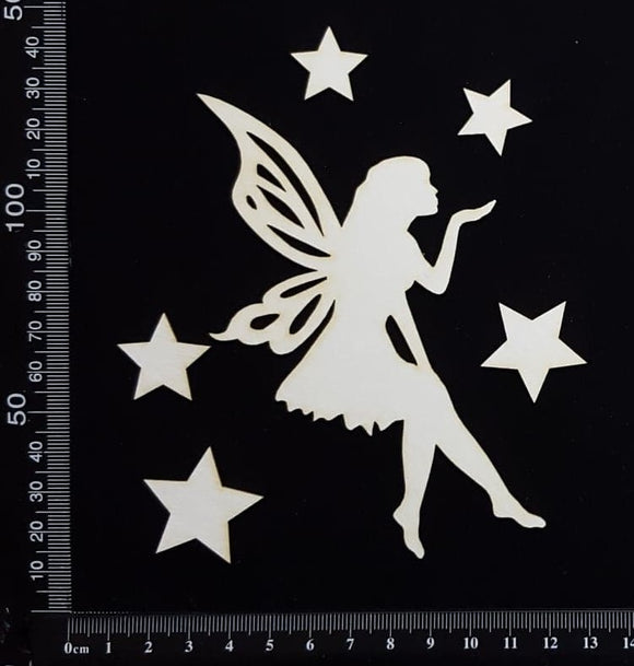 Fairy Set - AH - White Chipboard