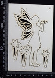 Fairy Set - AO - White Chipboard