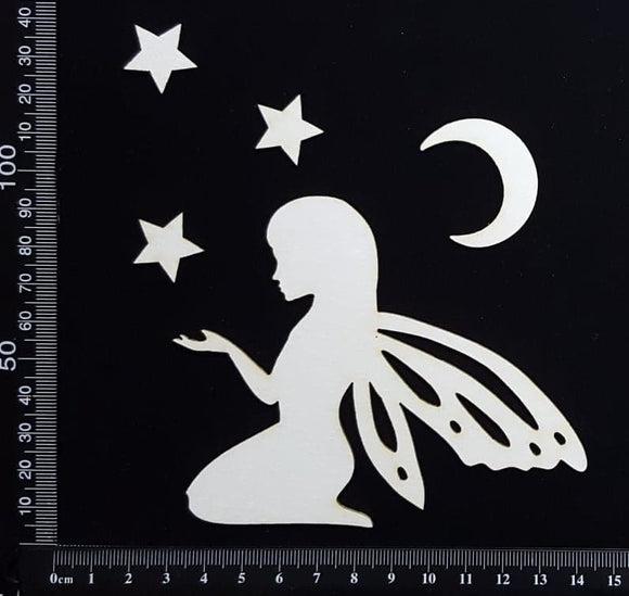 Fairy Set - AQ - White Chipboard